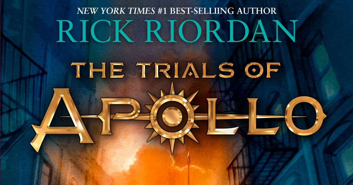 REVIEW: The Trials of Apollo: The Hidden Oracle by Rick Riordan ...