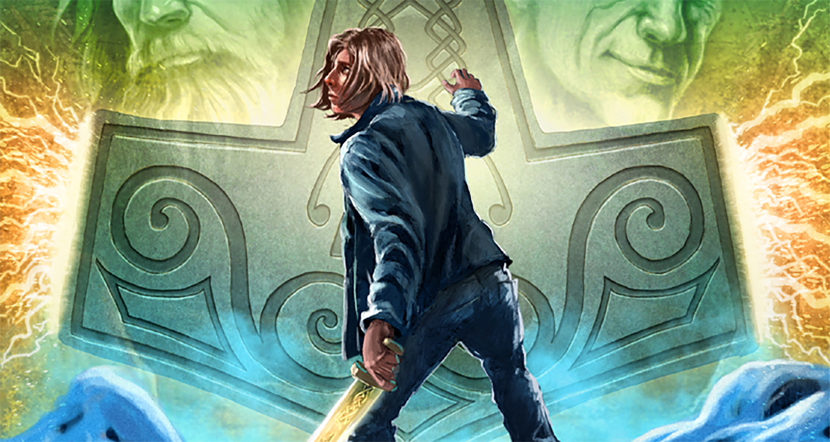 read the first two chapters of magnus chase the hammer of thor