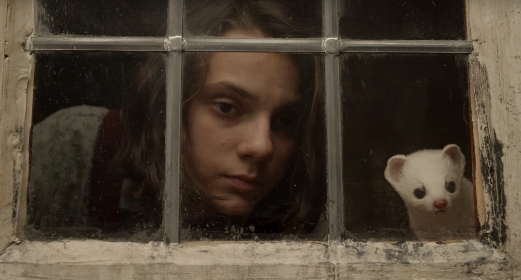 Lyra Belacqua in the 'His Dark Materials' trailer