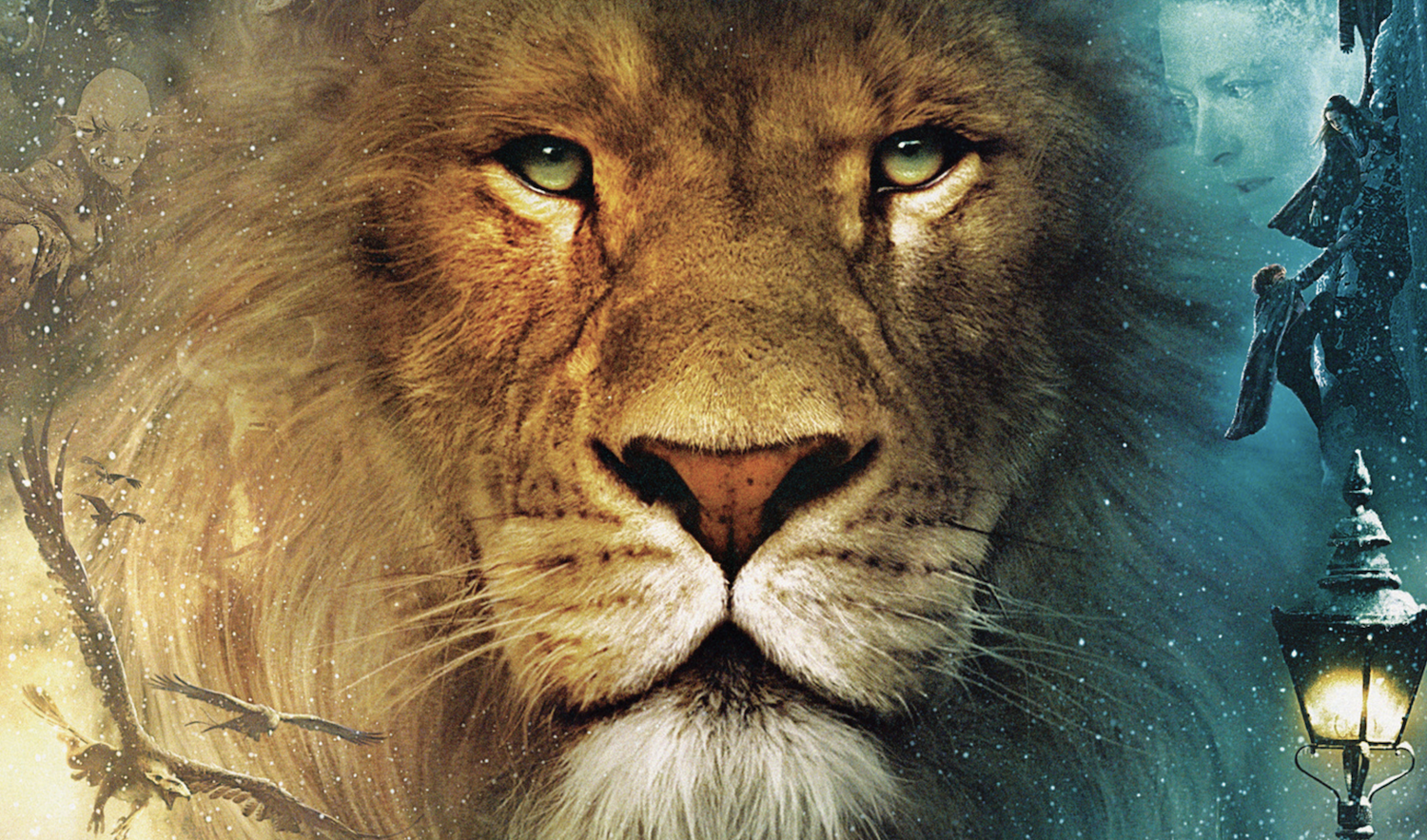 Aslan from C.S. Lewis' Narnia books. Netflix will adapt the series.