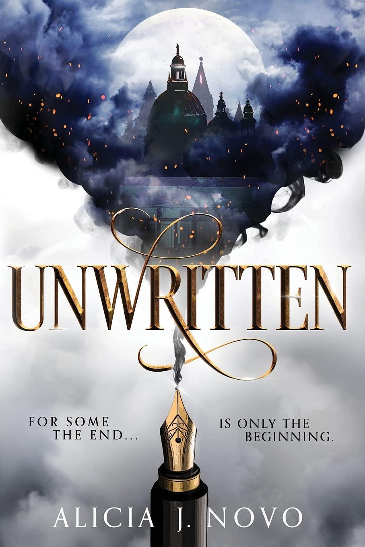 Cover for 'Unwritten' by Alicia J. Novo