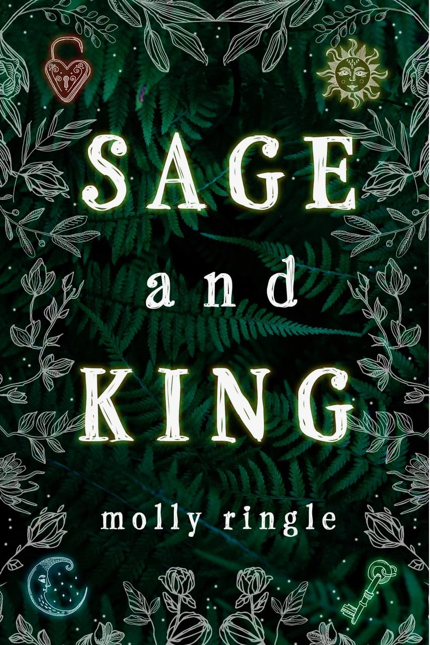 Cover for Molly Ringle's Sage and King.